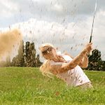 female golfer back pain physiotherapy